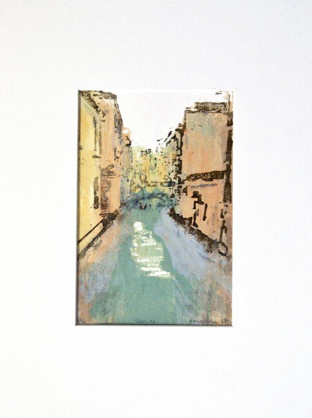 Venice Prints, Series 2 - Print No 9. Original art by Ian McKay