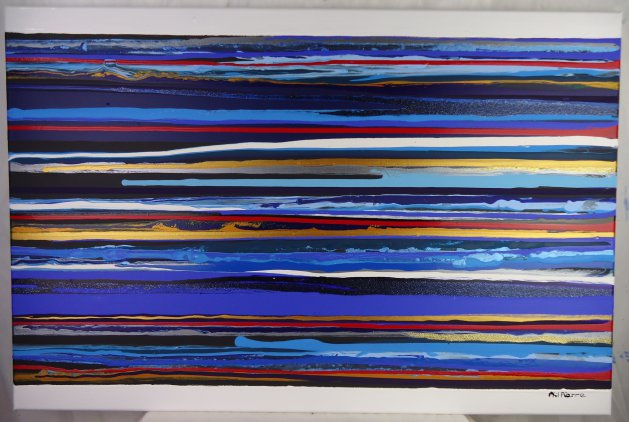Stripes 115. Original art by Phil Pierre
