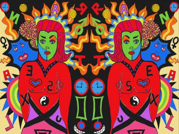 Gender Diversity. Original art by Andi Williams