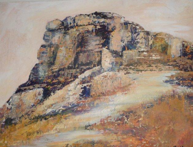 Roseberry Rocks. Original art by Cath Little