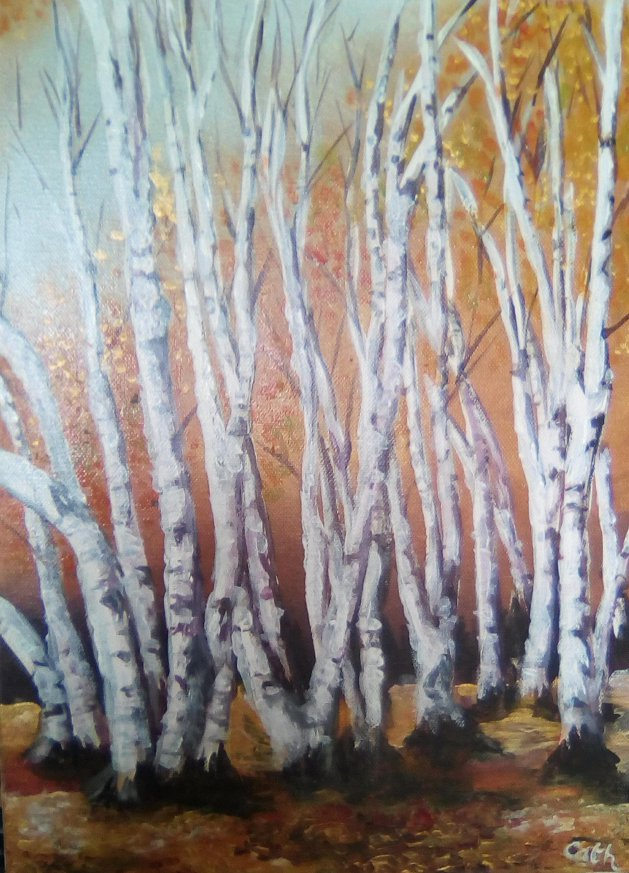 Silver and Gold. Original art by Cath Little