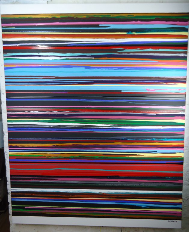 Stripes 118. Original art by Phil Pierre