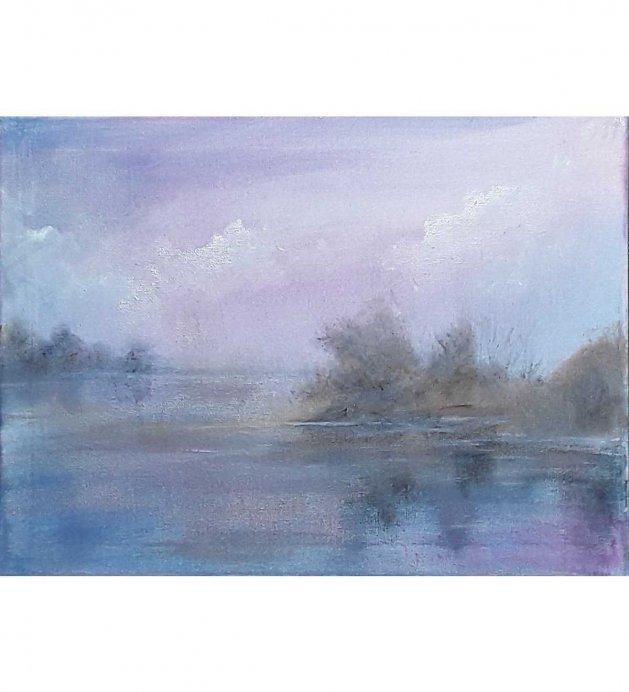 Purple haze. Original art by Valerie Beales