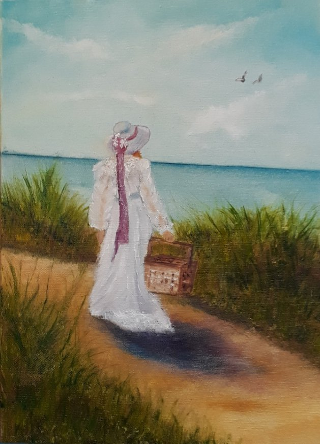 My fair Lady. Original art by Keith Groves