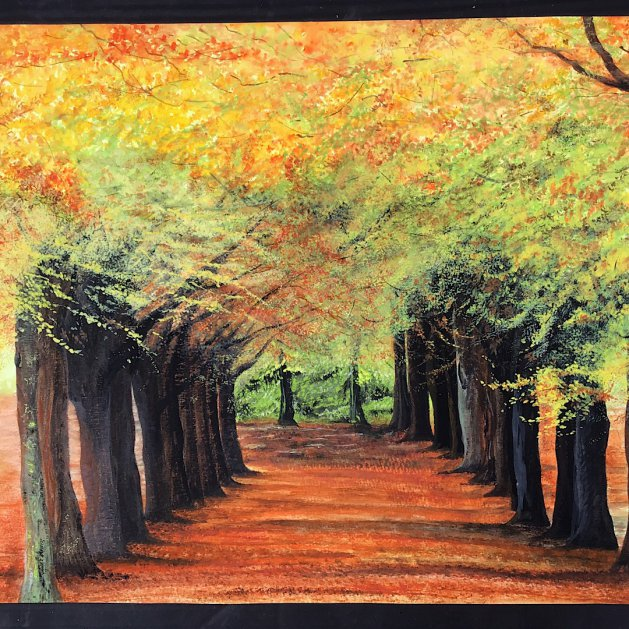 Could be Autumn. Original art by Janet Blower