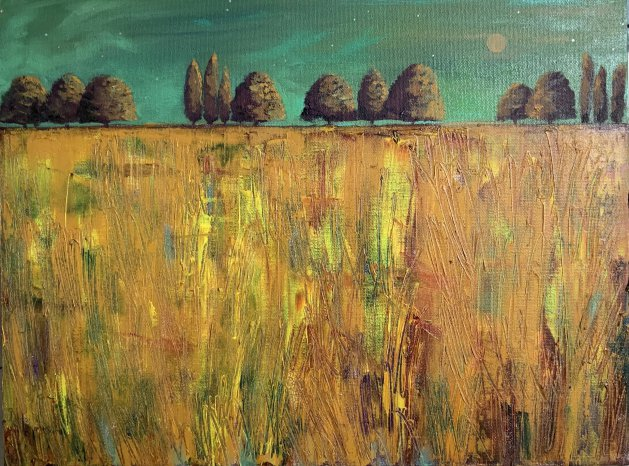 Autumn- the glory of it all. Original art by Sarah Gill