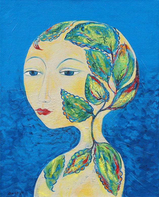 Lillan. Original art by Sue Wright
