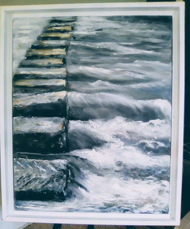 After the Rain. Original art by Cath Little