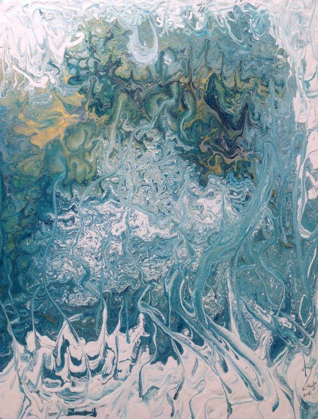 Ice Forest. Original art by KathleenTaylor