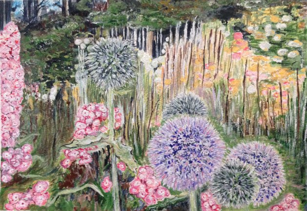 Botanic Burst. Original art by KathleenTaylor