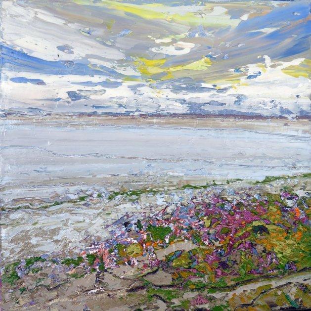 Estuary. Original art by Lynn Marie Hall