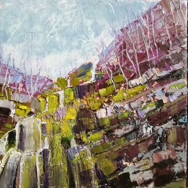 Quarry. Original art by Lynn Marie Hall