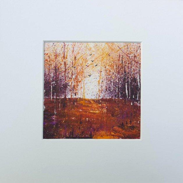 Seasons - Autumn 1. Original art by Teresa Tanner