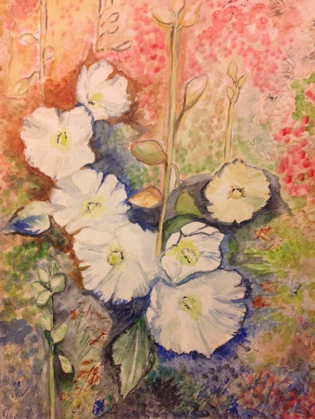 Blooming Summer. Original art by KathleenTaylor