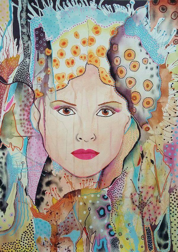The Look. Original art by Beatrice Margaret