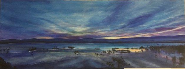 Purple Haze. Original art by Cheryll Hodgson