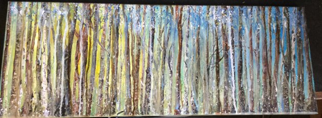 Arboretum. Original art by Cheryll Hodgson