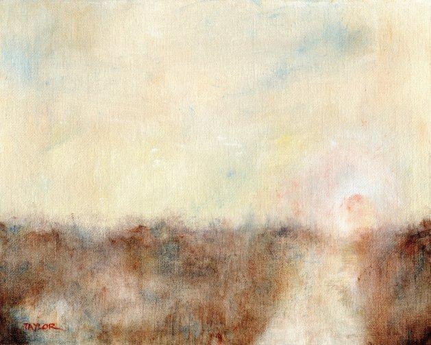 Closer To Home. Original art by Paul Taylor