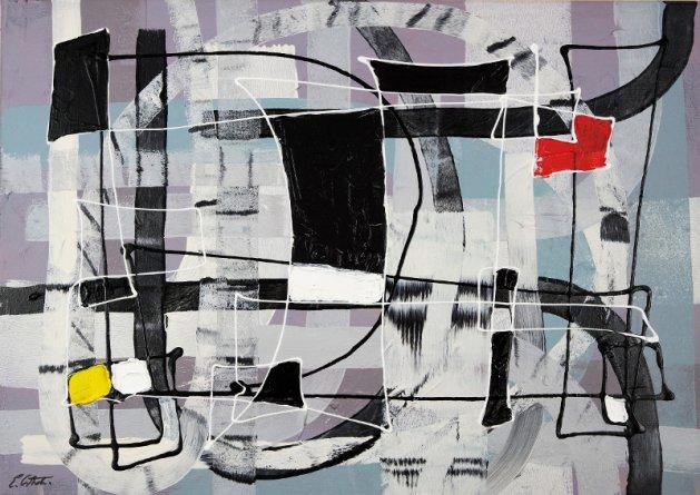 Expressive automatism abstract 907. Original art by Eraclis Aristidou