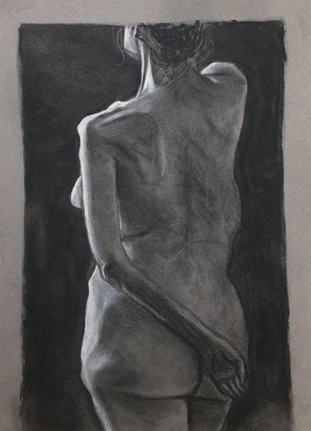 Life Study 4. Original art by Tom Rose