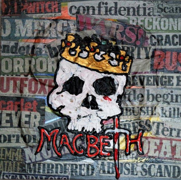 McBeth William Shakespeare 762. Original art by Eraclis Aristidou