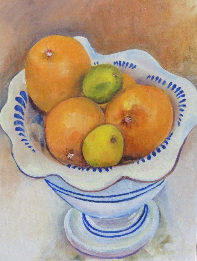 Oranges and Lemons. Original art by John Walker