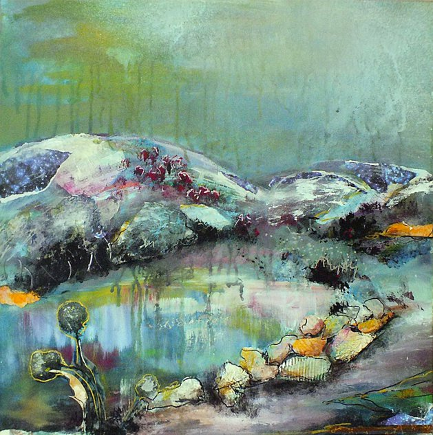 The Reserve. Original art by Tracey Unwin