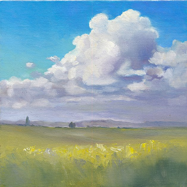 Spring Cloud. Original art by Christine Derrick