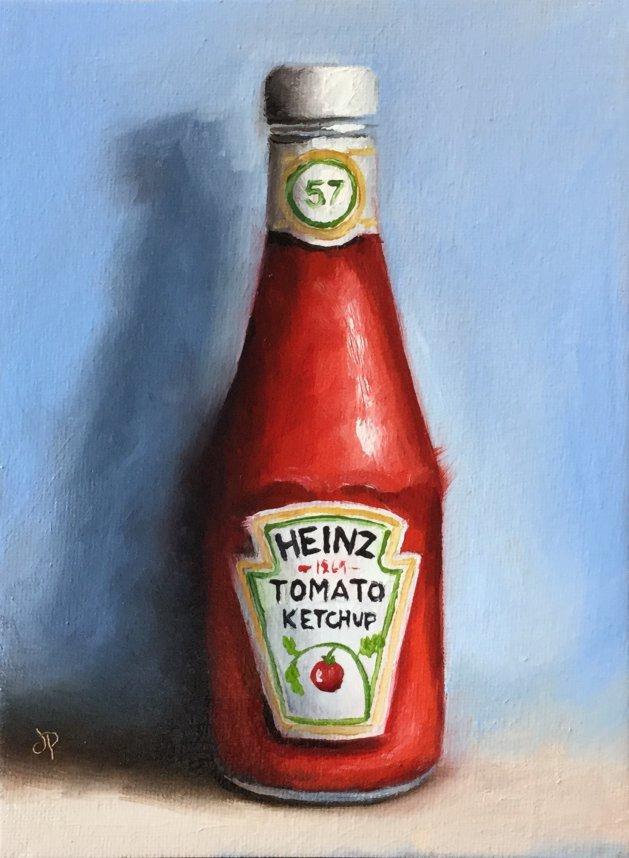 Ketchup. Original art by Jane Palmer