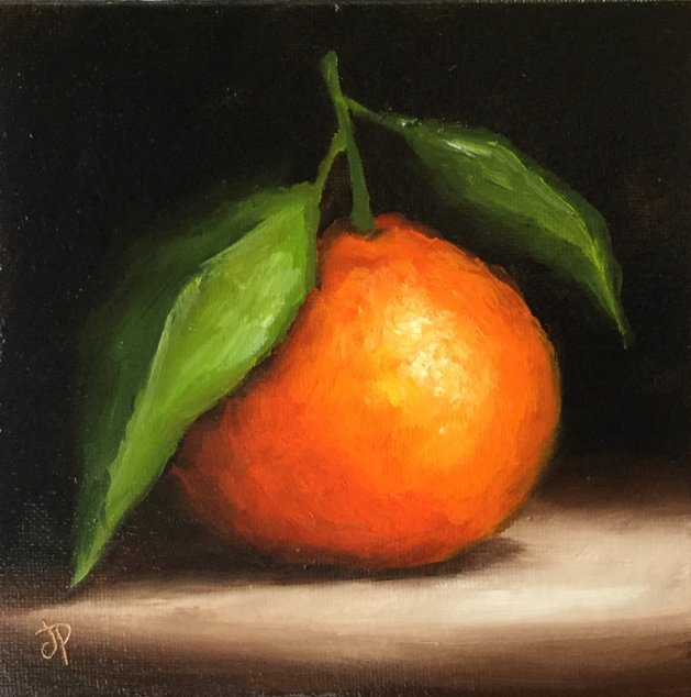 Clementine. Original art by Jane Palmer