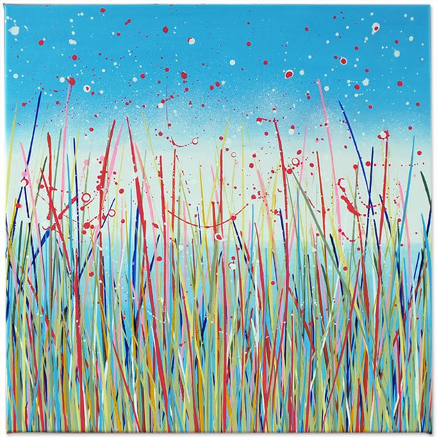 Summer Meadows 009. Original art by Rachelle Antoinette