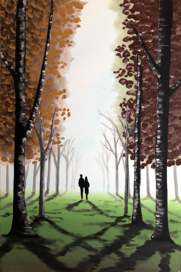 Autumn Dreams 5. Original art by Aisha Haider