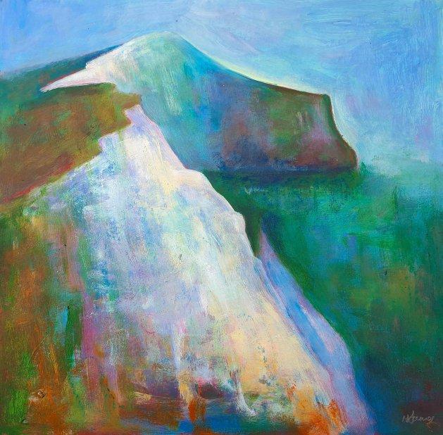 Sea Cliffs. Original art by Teresa Tanner