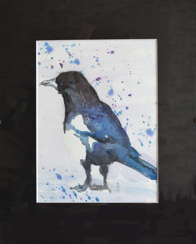 Magpie. Original art by SB Boursot