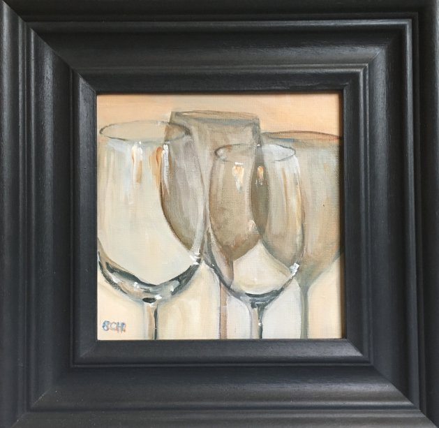 Glass Reflected. Original art by Sarah Nesbitt
