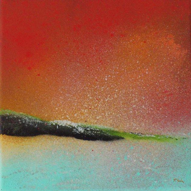 Of an Evening. Original art by Tracey Unwin