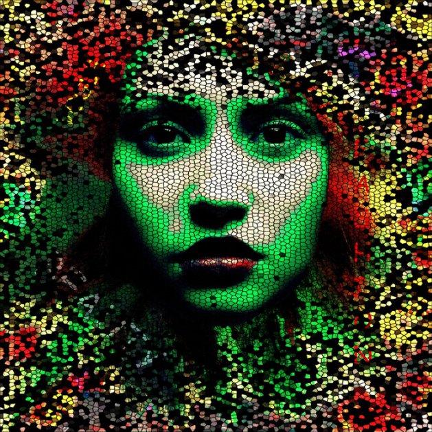 Mosaic. Original art by Andi Williams