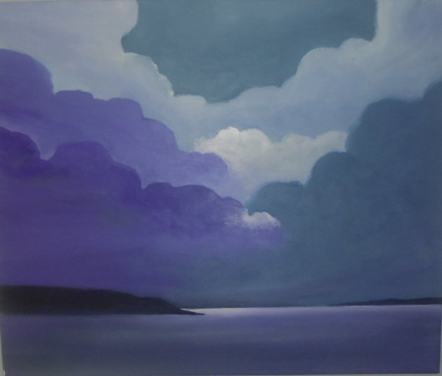 The Colour Purple. Original art by Steve Hawthorn