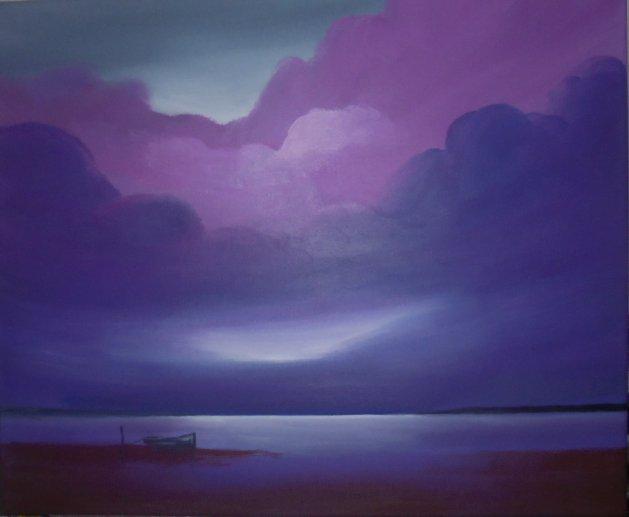 Afterglow. Original art by Steve Hawthorn