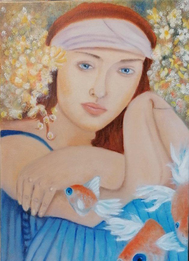 In a Dream. Original art by Keith Groves