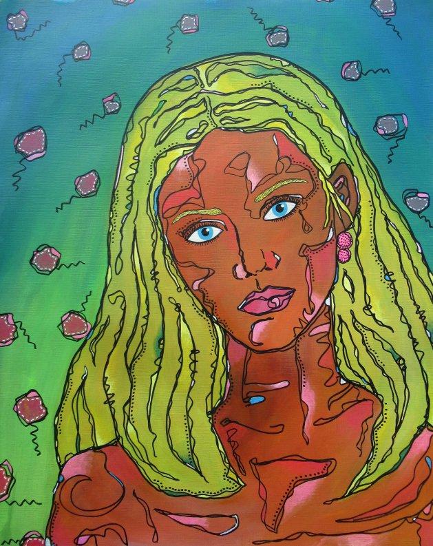 Woman. Original art by Beatrice Margaret