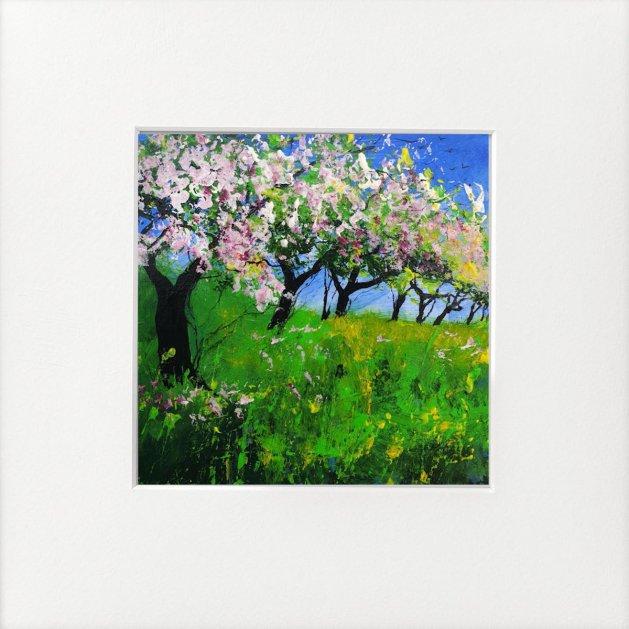 Little Apple Orchard. Original art by Teresa Tanner