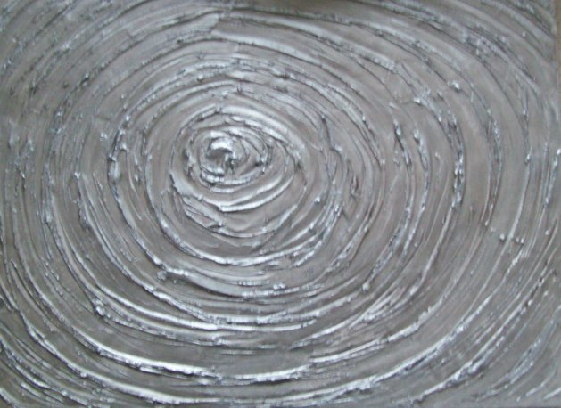 silver vortex. Original art by Patricia Richards