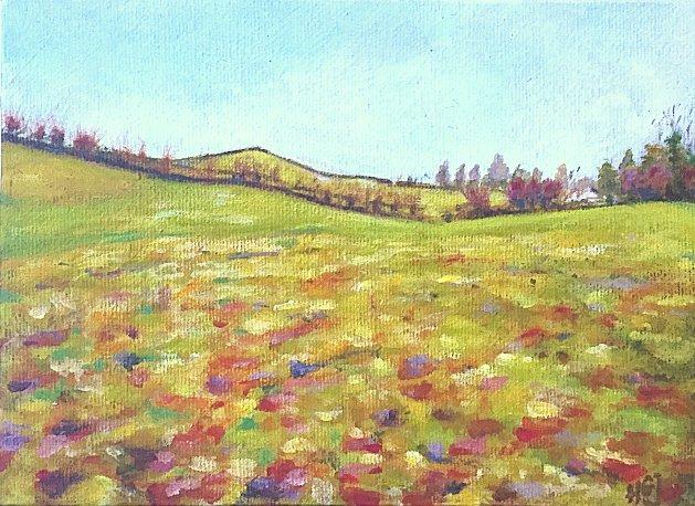 Sedgwick. Original art by Hilary Garnock-Jones
