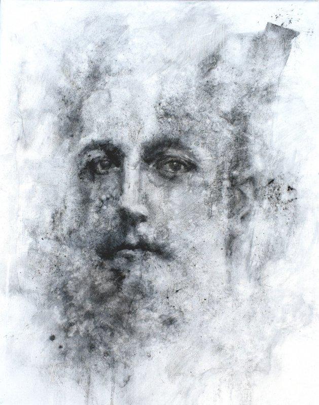 Portrait March 20. Original art by SB Boursot