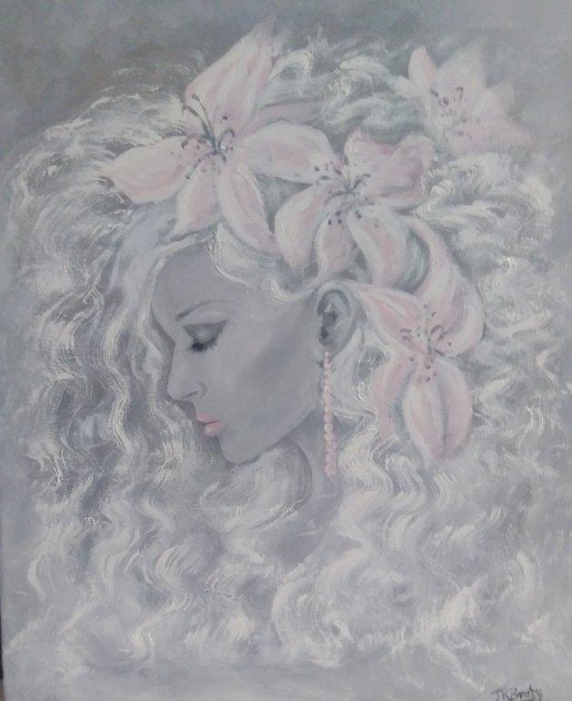 Lily. Original art by Jennifer Bratby