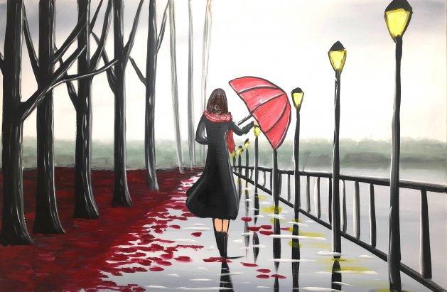 End Of The Rain 6. Original art by Aisha Haider