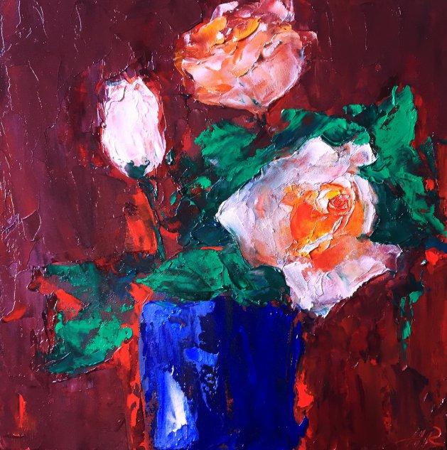 Just Roses. Original art by Alena Rumak