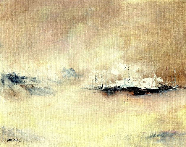 Flotilla. Original art by Paul Taylor