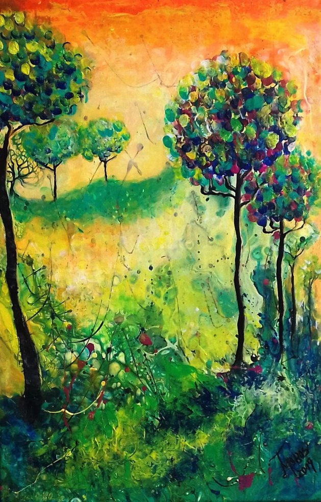 Sommer. Original art by Mariana Oros